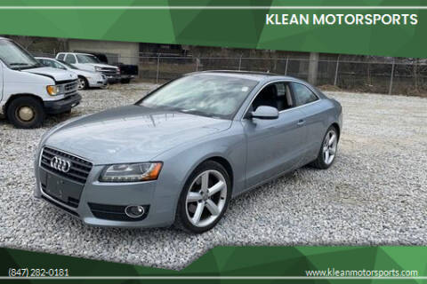 2010 Audi A5 for sale at Klean Motorsports in Skokie IL