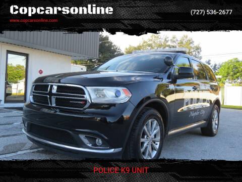 2018 Dodge Durango for sale at Copcarsonline in Largo FL