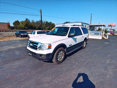 2007 Ford Expedition EL for sale at DISCOUNT AUTO SALES in Murfreesboro TN