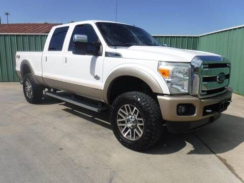 2012 Ford F-250 Super Duty for sale at Triple C Auto Sales in Gainesville TX