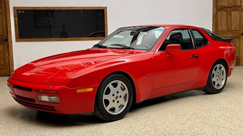 1988 Porsche 944 for sale at EuroMotors LLC in Lee MA