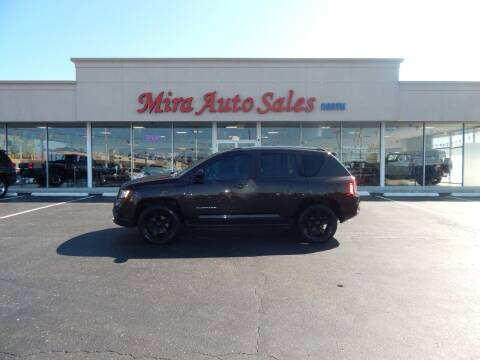2014 Jeep Compass for sale at Mira Auto Sales in Dayton OH