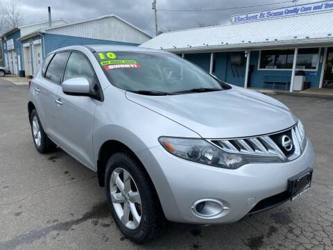 2010 Nissan Murano for sale at HACKETT & SONS LLC in Nelson PA