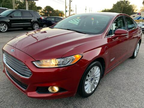 2014 Ford Fusion Energi for sale at Capital Motors in Raleigh NC
