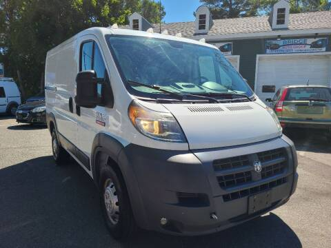 2015 RAM ProMaster Cargo for sale at Bridge Auto Group Corp in Salem MA