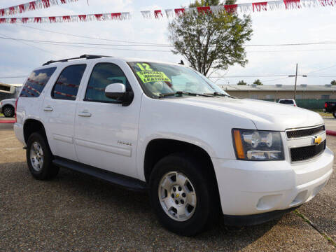 2012 Chevrolet Tahoe for sale at BLUE RIBBON MOTORS in Baton Rouge LA