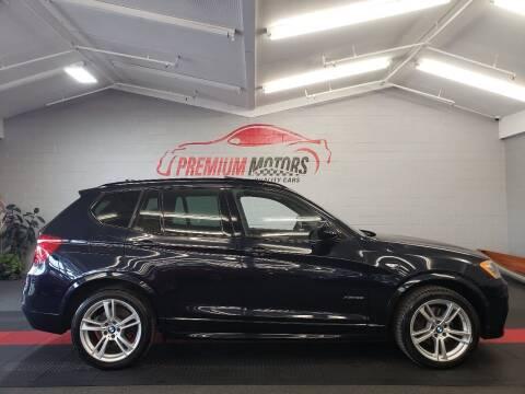 2014 BMW X3 for sale at Premium Motors in Villa Park IL