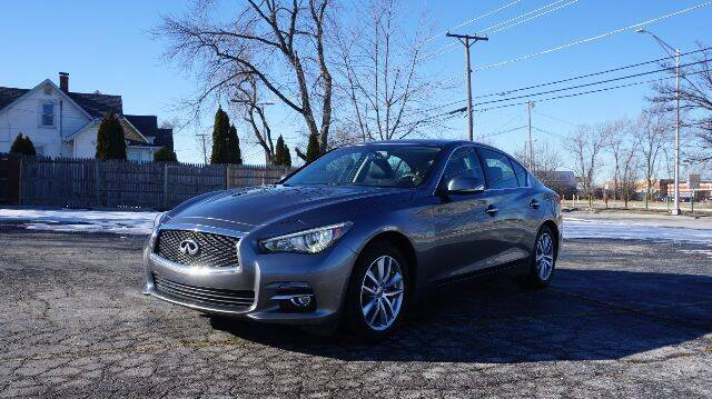 2017 Infiniti Q50 for sale at O T AUTO SALES in Chicago Heights IL