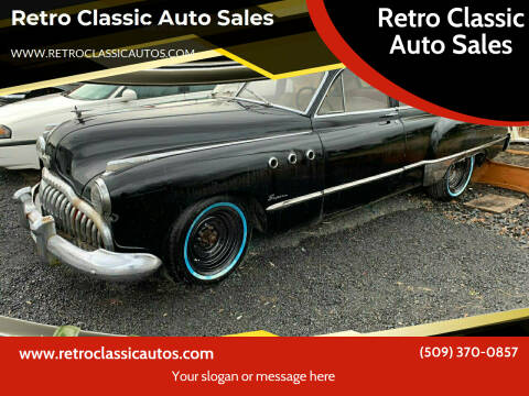 1949 Buick 50 Super for sale at Retro Classic Auto Sales - Classic Cars in Spangle WA