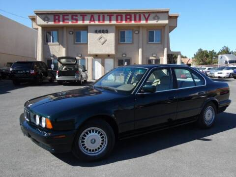 1993 BMW 5 Series for sale at Best Auto Buy in Las Vegas NV