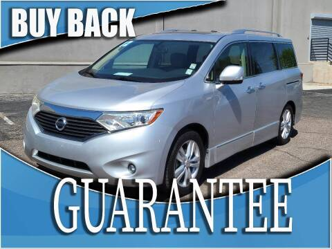 2012 Nissan Quest for sale at Reliable Auto Sales in Las Vegas NV