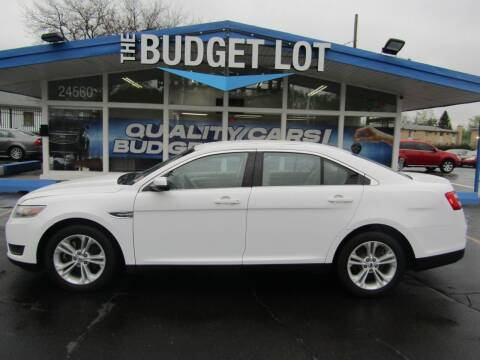 2018 Ford Taurus for sale at THE BUDGET LOT in Detroit MI
