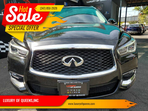 2019 Infiniti QX60 for sale at LUXURY OF QUEENS,INC in Long Island City NY
