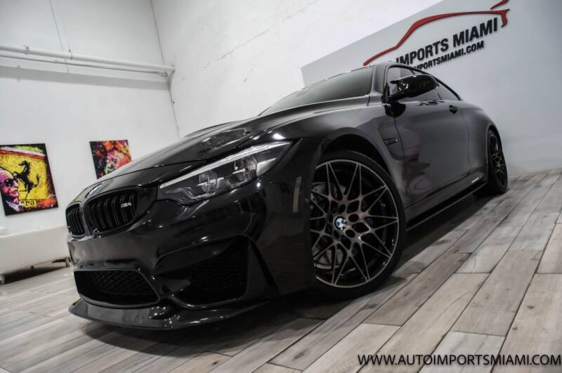 2018 BMW M4 for sale at AUTO IMPORTS MIAMI in Fort Lauderdale FL