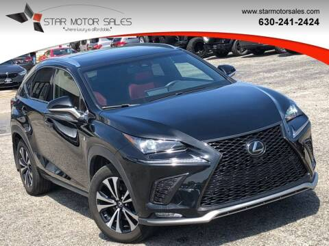 2018 Lexus NX 300 for sale at Star Motor Sales in Downers Grove IL