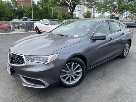 2018 Acura TLX for sale at Sonias Auto Sales in Worcester MA