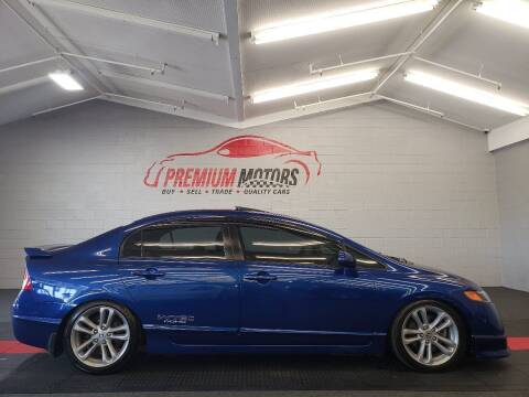 2008 Honda Civic for sale at Premium Motors in Villa Park IL
