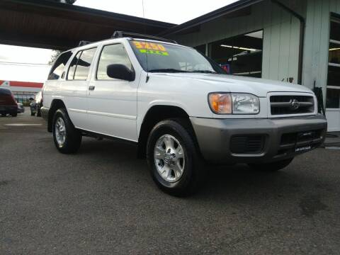 2000 Nissan Pathfinder for sale at Low Auto Sales in Sedro Woolley WA