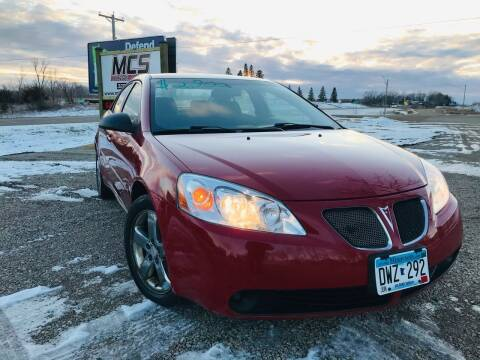 2006 Pontiac G6 for sale at MINNESOTA CAR SALES in Starbuck MN