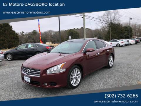 2009 Nissan Maxima for sale at ES Motors-DAGSBORO location in Dagsboro DE