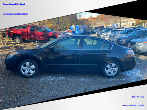 2008 Nissan Altima for sale at Compact Cars of Pittsburgh in Pittsburgh PA