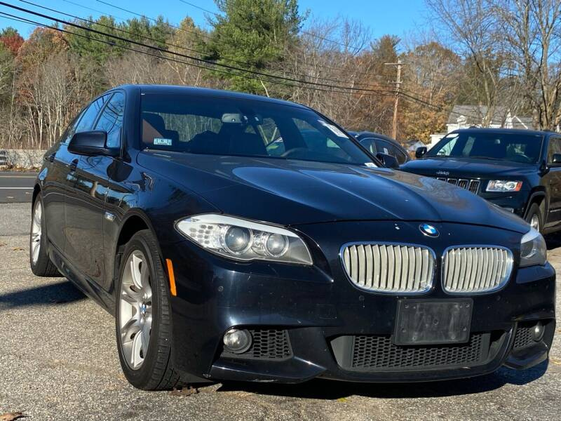 2013 BMW 5 Series for sale at Royal Crest Motors in Haverhill MA