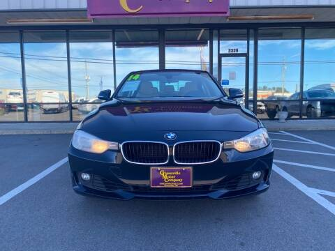 2014 BMW 3 Series for sale at Greenville Motor Company in Greenville NC