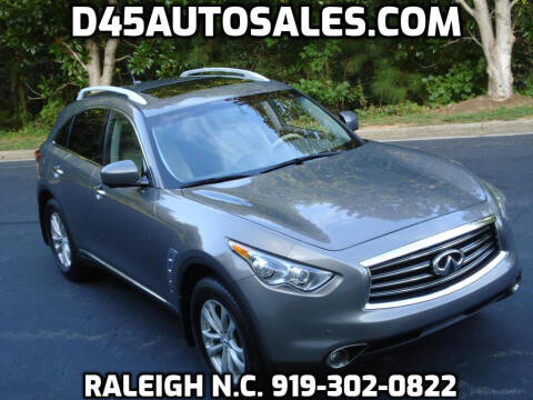 2012 Infiniti FX35 for sale at D45 Auto Brokers in Raleigh NC