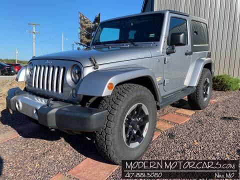 2014 Jeep Wrangler for sale at Modern Motorcars in Nixa MO