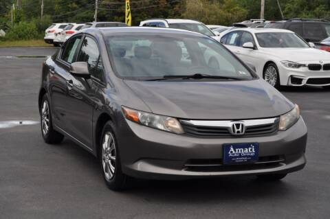 2012 Honda Civic for sale at Amati Auto Group in Hooksett NH