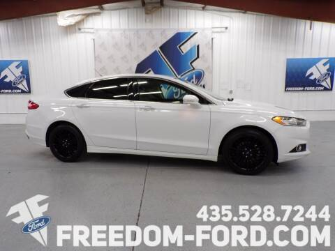 2016 Ford Fusion for sale at Freedom Ford Inc in Gunnison UT