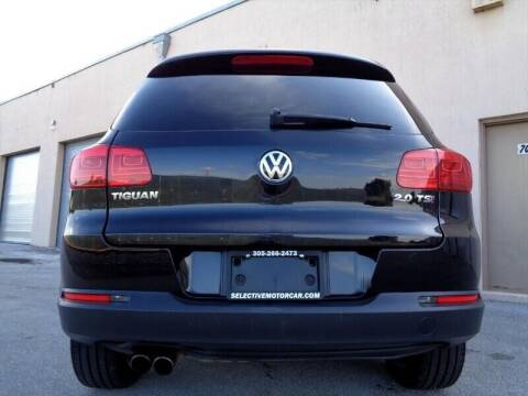 2012 Volkswagen Tiguan for sale at Selective Motor Cars in Miami FL