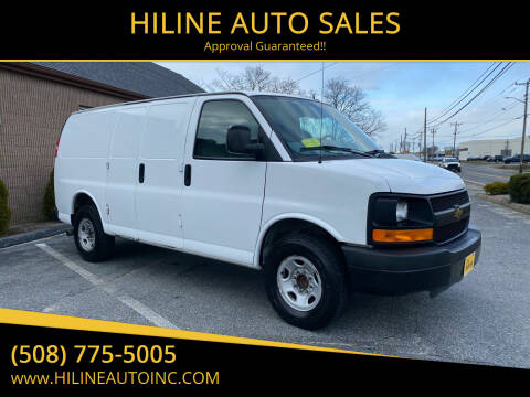 2015 Chevrolet Express Cargo for sale at HILINE AUTO SALES in Hyannis MA