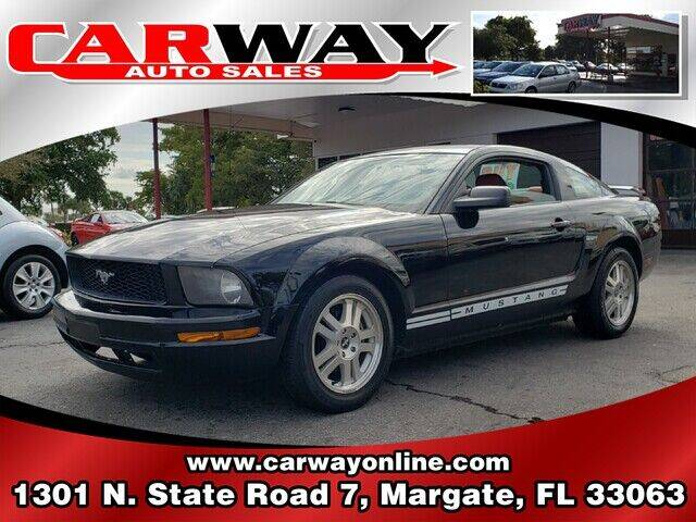 2007 Ford Mustang for sale at CARWAY Auto Sales in Margate FL