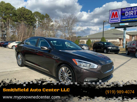 2015 Kia K900 for sale at Smithfield Auto Center LLC in Smithfield NC