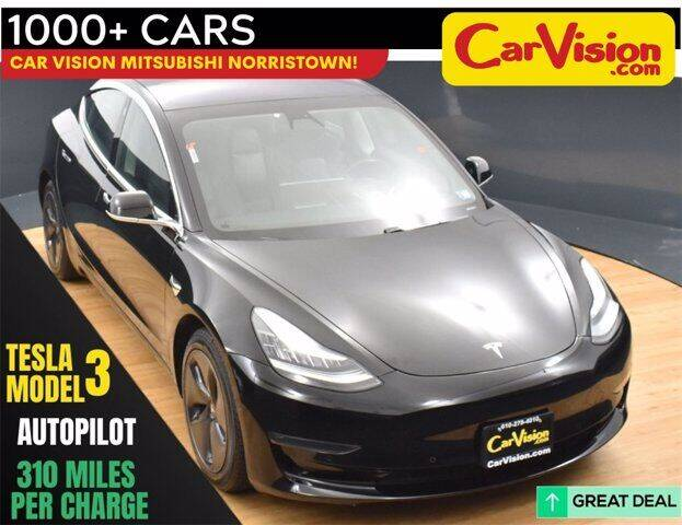 2019 Tesla Model 3 for sale at Car Vision Buying Center in Norristown PA