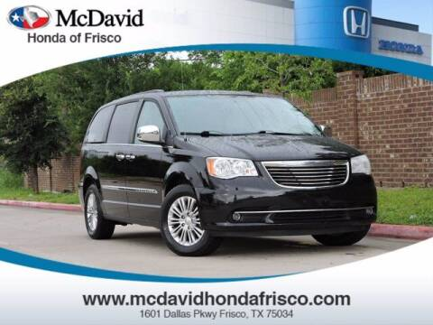 2016 Chrysler Town and Country for sale at DAVID McDAVID HONDA OF IRVING in Irving TX