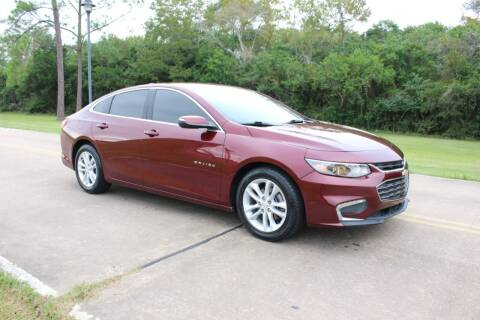 2016 Chevrolet Malibu for sale at Clear Lake Auto World in League City TX