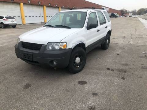 2006 Ford Escape for sale at JORDAN & K INC. in River Grove IL