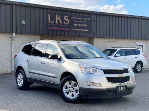 2012 Chevrolet Traverse for sale at LKS Auto Sales in Fresno CA