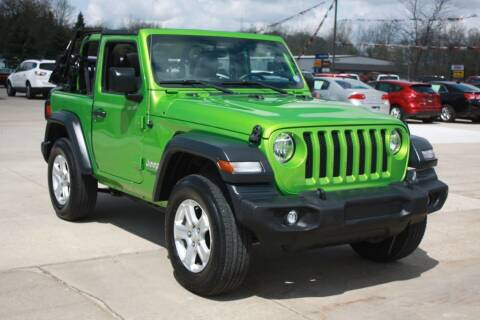 2019 Jeep Wrangler for sale at Sandusky Auto Sales in Sandusky MI