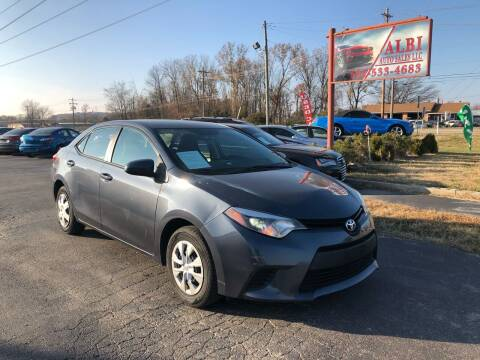 2014 Toyota Corolla for sale at Albi Auto Sales LLC in Louisville KY