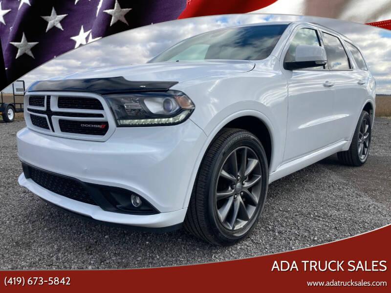 2018 Dodge Durango for sale at Ada Truck Sales in Ada OH