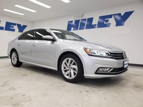2018 Volkswagen Passat for sale at HILEY MAZDA VOLKSWAGEN of ARLINGTON in Arlington TX