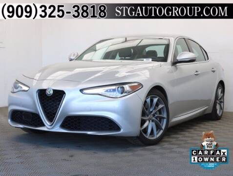 2017 Alfa Romeo Giulia for sale at STG Auto Group in Montclair CA