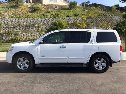 2006 Nissan Armada for sale at CALIFORNIA AUTO GROUP in San Diego CA