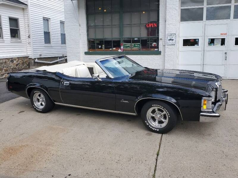 1973 Mercury Cougar for sale at Carroll Street Auto in Manchester NH
