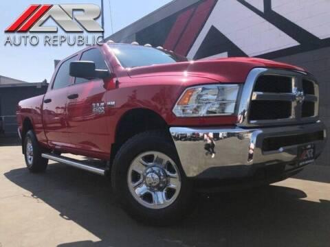 2016 RAM Ram Pickup 2500 for sale at Auto Republic Fullerton in Fullerton CA