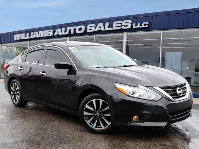 2017 Nissan Altima for sale at Williams Auto Sales, LLC in Cookeville TN