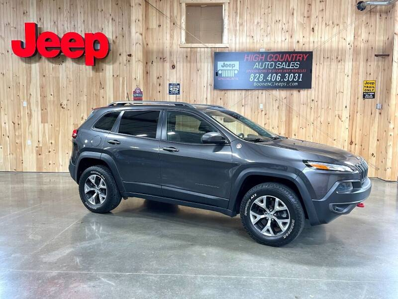 2016 Jeep Cherokee for sale at Boone NC Jeeps-High Country Auto Sales in Boone NC